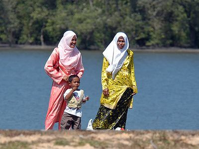 Most of the Malaysians are Muslim, however in Sabah about 1/3 are Christian