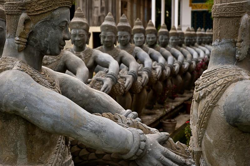 Temple statuary