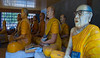 Revered deceased Buddhist teachers at Kompong Cham temple complex (Guy in the middle looks like George H. W. Bush to me.)