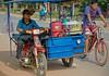 Traffic, Airport Road, Siem Reap