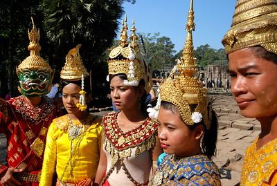 Apsara dancers, Siem Reap, Cambodia 2007
