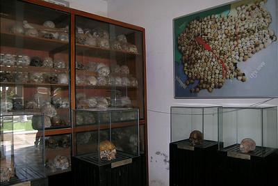 Security Prison 21 - Tuol Sleng Skulls