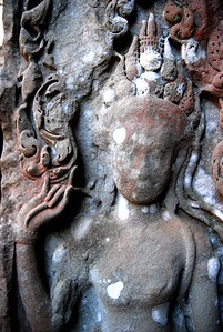 Temple Carving, Siem Reap