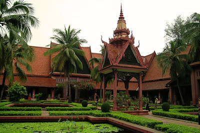 Phnom Penh - National Museum Courtyard