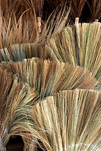 Brooms, Siem Reap Market, Cambodia 2007