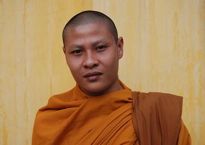 Monk, Phnom Penh