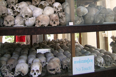 Killing Fields - Skulls in rows