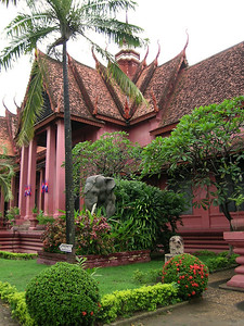 Phnom Penh - National Museum Entrance