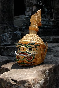 Apsara Mask, Angkor Wat Temple, Siem Reap