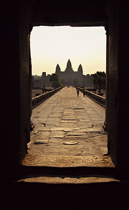 Morning at Angkor Wat, Siem Reap