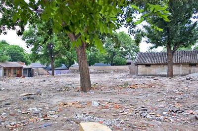 A hutong being demolished ...