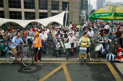 Chengdu bicycles