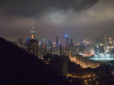 Hong Kong at Night from the Peak.