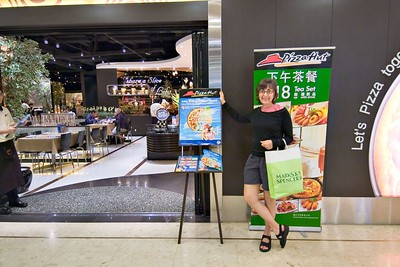 Cultural icons - Marks and Spencer and Pizza Hut in Hong Kong