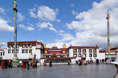 The Jokhang Temple (1300 years old)