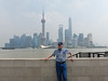Dad across from the Oriental Pearl TV Tower<br /> Shanghai