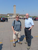 Steve and dad at Tian'anmen Square<br /> Beijing