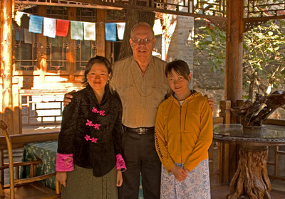 Most of the staff at the Ranch were Tibetan