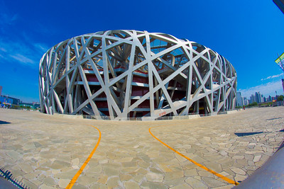 """Bird's Nest"" stadium in Beijing"