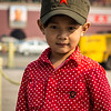 The next generation . . . In Tiananmen Square