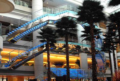 Lobby of the Westin in Shanghai