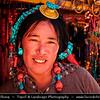 "Asia - China - Tibet - Lhasa - Tibetian capital on Tibetan Plateau at altitude of 3,490 metres (11,450 ft) - Sera Monastery - Wild Roses Monastery - One of the ""great three"" Gelug university monasteries of Tibet"