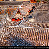 Asia - China - Southwest China - Yunnan Province -  Lijiang - 丽江- Likiang - Old Town - UNESCO Heritage Site - Rooftop view over traditional houses