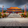 Asia - China - Southwest China - Yunnan Province - Dali - Chongsheng Temple - Royal Buddhist temple at foot of Mt. Cangshan, facing Erhai Erhai Lake - Largest & most grand temple cluster in Dali