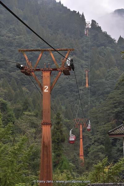 Jinli cable car