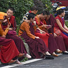 nuns at Da Fo Buddhist Temple