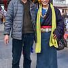 Tibetan couple in Songpan
