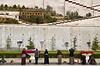 Pilgrims at the foot of Potola Palace