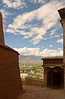 Lhasa from a terrace in the Potola Palace