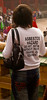 The popularity in Asia of English-language labeled shirts with their often absurd and frequently ribald or vulgar messages should be a caution to Americans who arrange to have Chinese ideographs tattooed on their bodies.