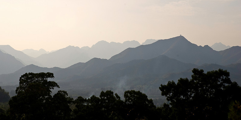 Jundu Mountains behind the Ming Dynasty Tombs