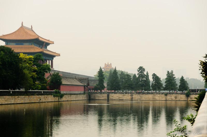 Rear entrance to The Forbidden City