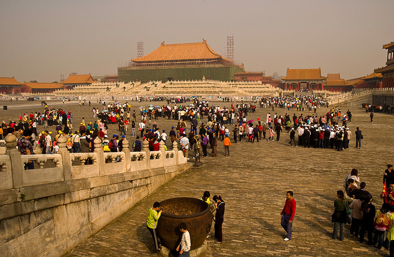Forbidden City on National Day