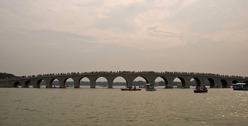 Mirror Bridge, Kunming Lake, Summer Palace