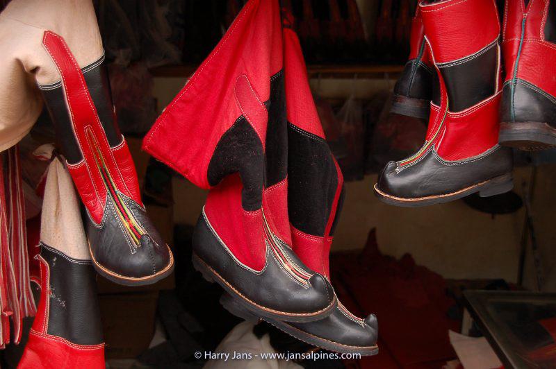 Tibetan boots