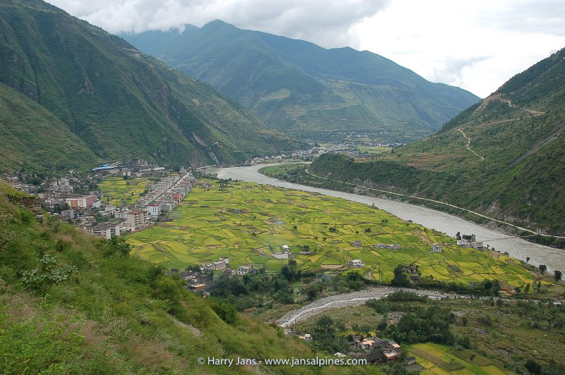 Lenqi town, 1370m