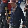 pilgrims near the Jokhang Tempel in Lhasa