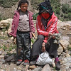 Tibetan woman with child