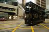 Trolleys run everywhere on Hong Kong.