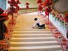 Wedding preparations in a Hong Kong hotel