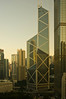 Hong Kong Island is the business center.