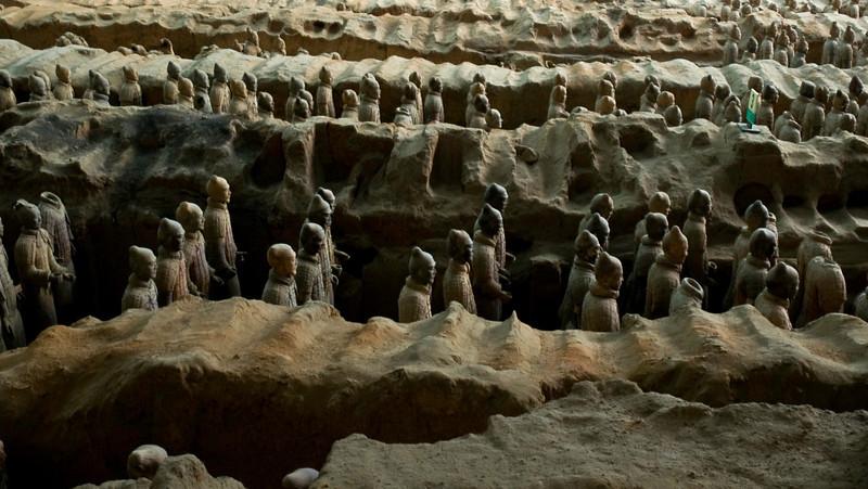 Terra cotta warriors, Xian