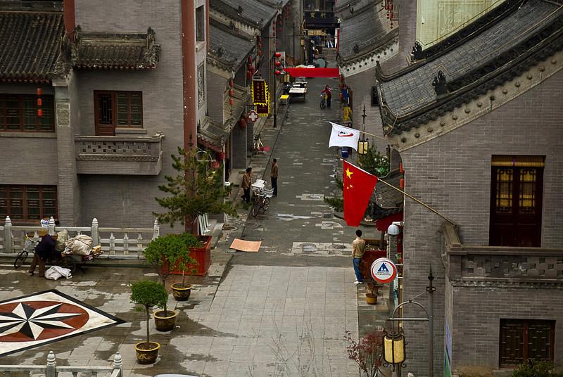 Urban renewal project, downtown Xian