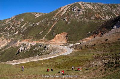Sichuan,  Huanglong, Xueshanliang, 3950m