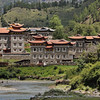 Tibetan houses (Jiulong --> Kangding)