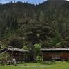 mountain hut at Wuxuhai Lake